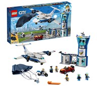 LEGO City Politiets flybase