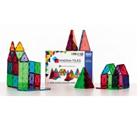 Magna-Tiles transparent byggesett 100 deler