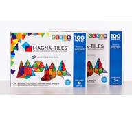 Magna-Tiles transparent byggesett 200 deler