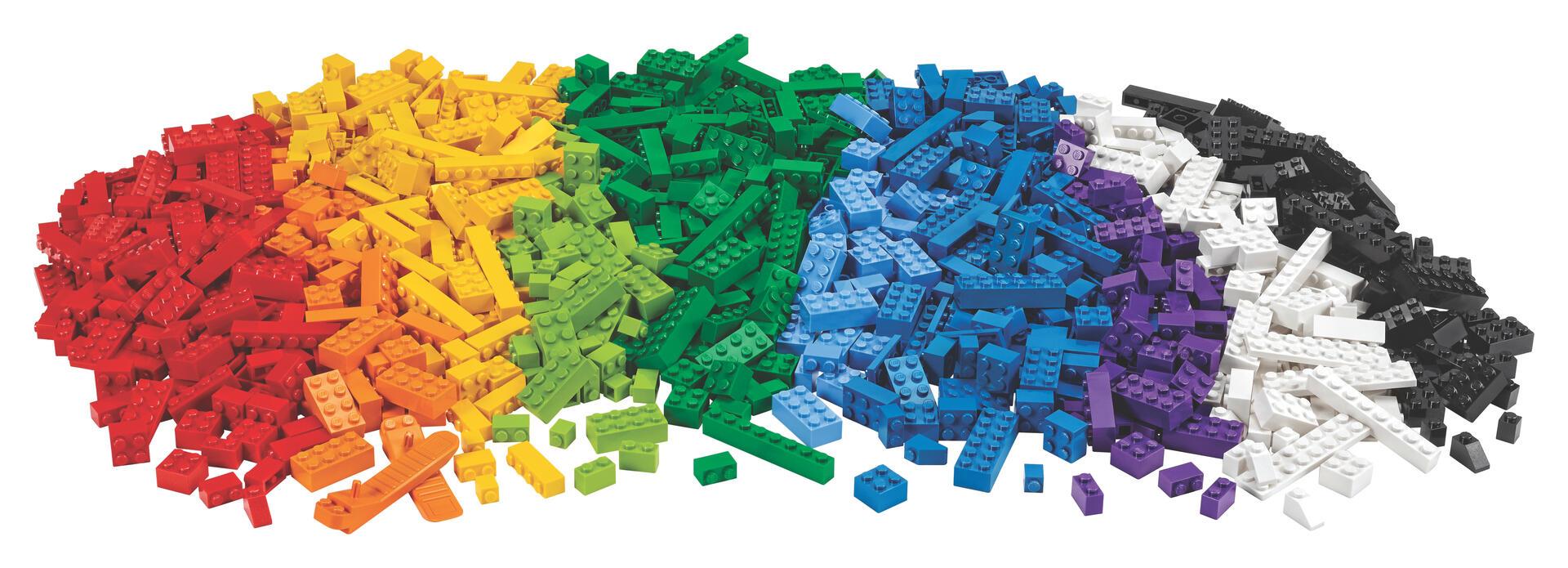 LEGO Bord + LEGO Klosser