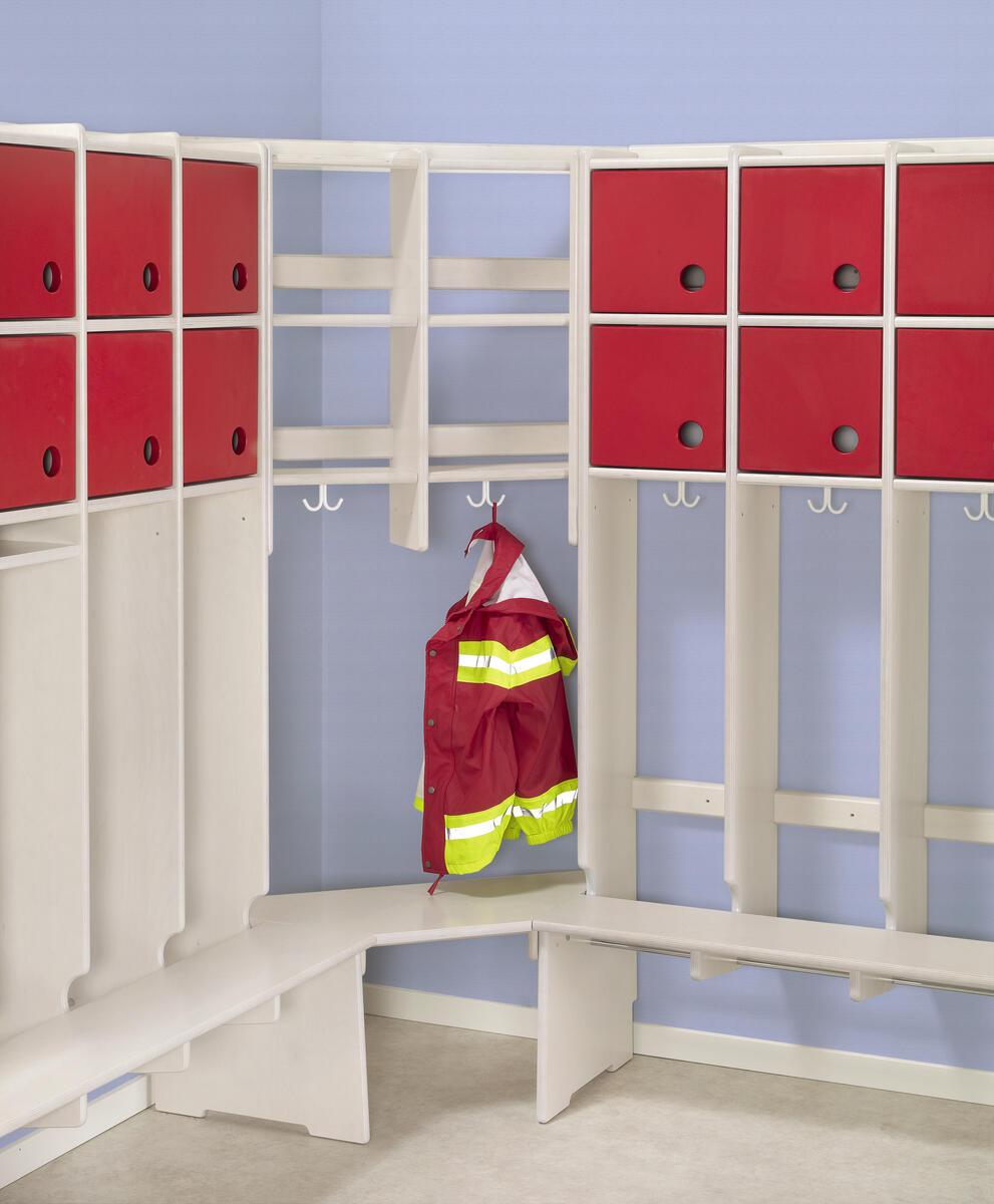 Flexi 25 garderobe hj rne 2 doble rom m sittebenk for Garderobe 2 m breit
